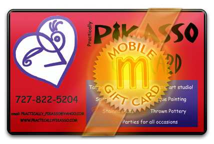 Practically Pikasso M-Gift Card